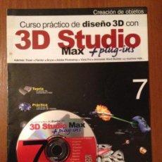 Libros de segunda mano: 3D STUDIO MAX - #7 + CD. Lote 110640903