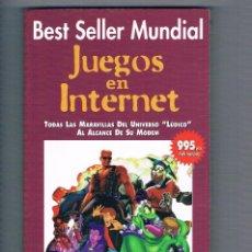 Libros de segunda mano: JUEGOS EN INTERNET ABETO 1997. Lote 111172787