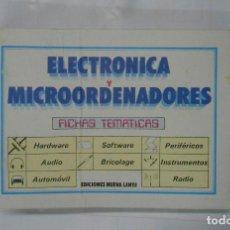 Libros de segunda mano: ELECTRONICA Y MICROORDENADORES. DOS FICHEROS. ¿COMO FUNCIONA? INSTRUMENTOS HERRAMIENTAS. TDK240. Lote 112319891