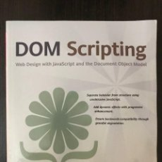 Libros de segunda mano: DOM SCRIPTING - JEREMY KEITH - ED. FRIENDSOFT - INGLÉS.. Lote 112528619