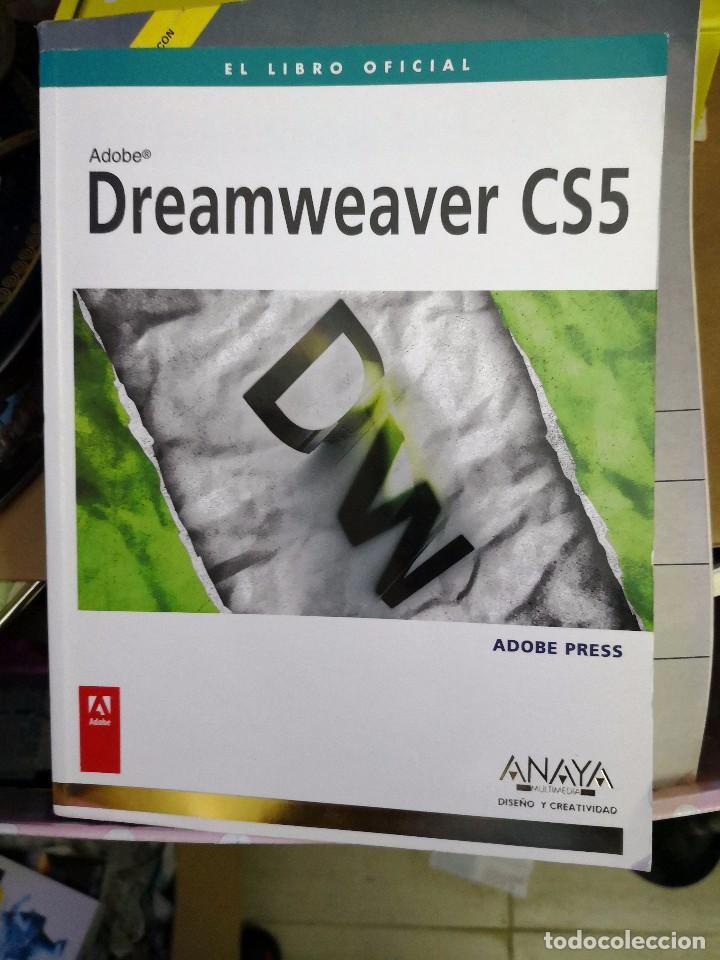 LIBRO OFICIAL ADOBE DREAMWEAVER CS4 ANAYA (Libros de Segunda Mano - Informática)