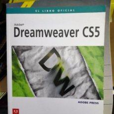 Libros de segunda mano: LIBRO OFICIAL ADOBE DREAMWEAVER CS4 ANAYA . Lote 113119831