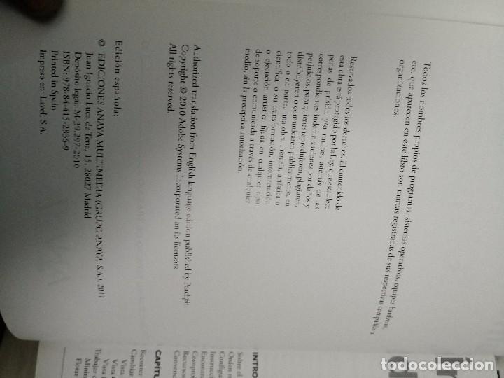 Libros de segunda mano: Libro oficial ADOBE DREAMWEAVER CS4 ANAYA - Foto 3 - 113119831