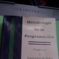 Libros de segunda mano: METODOLOGIA DE LA PROGRAMACION - PROGRAMAS Y ESTRUCTURAS DE DATOS EN PASCAL. Lote 113142527