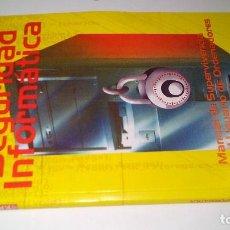 Libros de segunda mano: SEGURIDAD INFORMATICA-JULIAN DE MONTEPIO-MANUAL DE SUPERVIVENCIA PARA EL USO DE ORDENADORES-. Lote 113433127