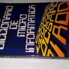 Libros de segunda mano: DICCIONARIO DE MICROINFORMATICA-VOCABULARIO INGLÉS-ESPAÑOL-R TAPIAS. Lote 113440991