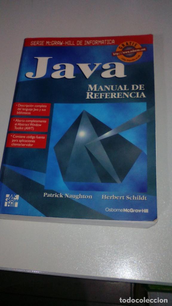 java manual de referencia mcgraw hill herbe comprar libros de rh todocoleccion net java manual de referencia pdf java manual de referencia pdf