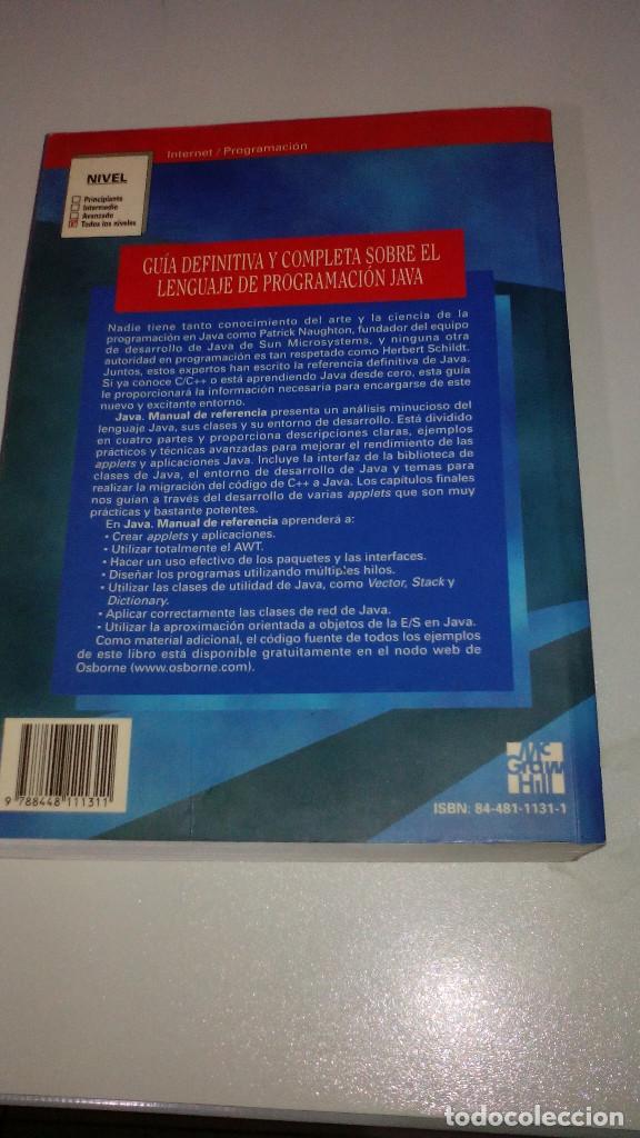 java manual de referencia mcgraw hill herbe comprar libros de rh todocoleccion net java manual de referencia herbert schildt pdf java manual de referencia pdf