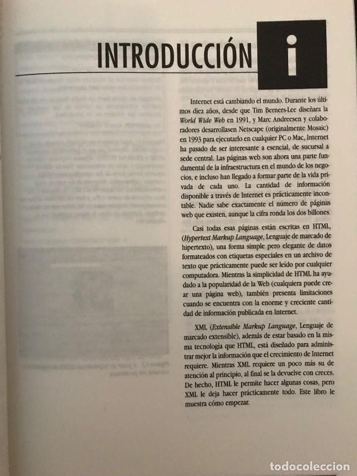 Libros de segunda mano: Guía de aprendizaje XML. Elizabeth Castro. Ed. Pearson Educación, 2002 - Foto 4 - 114127095