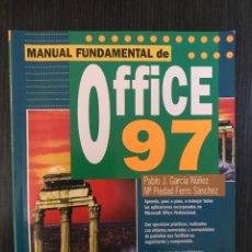 Libros de segunda mano: OFFICE 97, MANUAL FUNDAMENTAL. ED. ANAYA. Lote 114875027