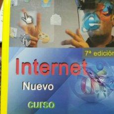 Libros de segunda mano: INTERNET NUEVO CURSO DE INICIACION. 7°EDICION. Lote 114886423