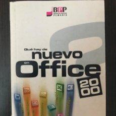 Libros de segunda mano: QUÉ HAY DE NUEVO EN OFFICE 2000. ED. BELENGUER - PCMANIA. Lote 114981219
