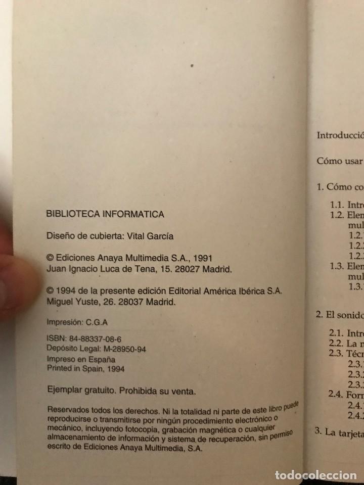 Libros de segunda mano: Multimedia - Biblioteca Informática. Ignacio de Bustos. PC Magazine - Foto 2 - 114981487