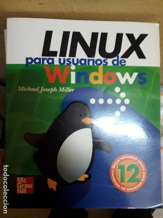 LIBRO SOBRE LINUX (Libros de Segunda Mano - Informática)