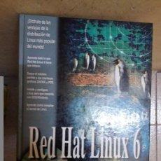 Libros de segunda mano: LIBRO RED HAT LINUX 6. Lote 115064875