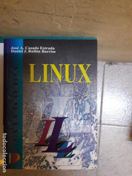LIBRO LINUX (Libros de Segunda Mano - Informática)