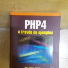 Libros de segunda mano: LIBRO PHP4. Lote 115067067