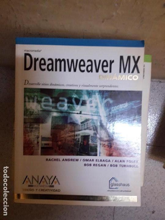 LIBRO DREAMWEAVER MX (Libros de Segunda Mano - Informática)