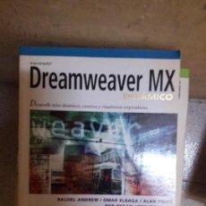 Libros de segunda mano: LIBRO DREAMWEAVER MX. Lote 115067447