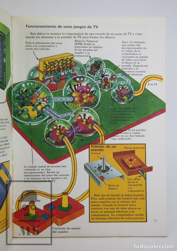 Libros de segunda mano: Libro Ilustrado - Juegos de Computadoras - Colección Electrónica - Ed. SM / Plesa, 1983 - Foto 2 - 115479643