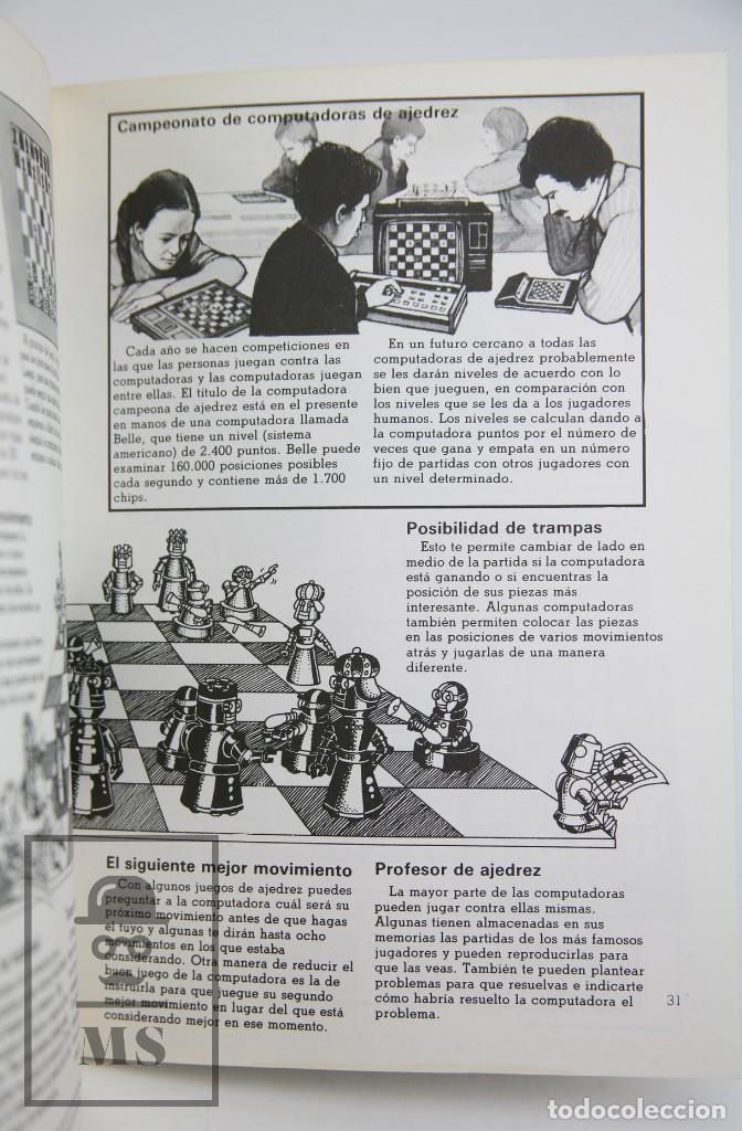 Libros de segunda mano: Libro Ilustrado - Juegos de Computadoras - Colección Electrónica - Ed. SM / Plesa, 1983 - Foto 3 - 115479643