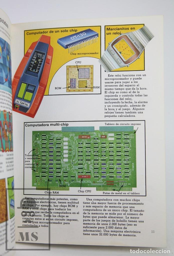 Libros de segunda mano: Libro Ilustrado - Juegos de Computadoras - Colección Electrónica - Ed. SM / Plesa, 1983 - Foto 4 - 115479643