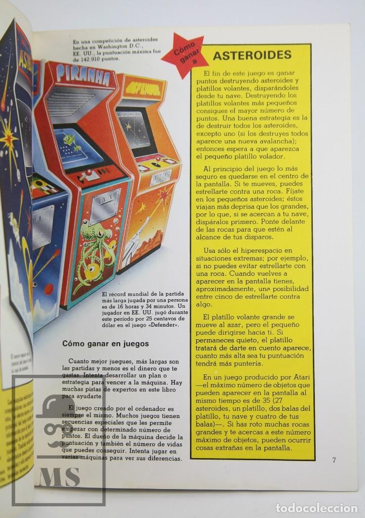 Libros de segunda mano: Libro Ilustrado - Juegos de Computadoras - Colección Electrónica - Ed. SM / Plesa, 1983 - Foto 5 - 115479643