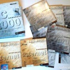 Libros de segunda mano: ESTUCHE CON 11 CD CURSO INFORMATICA PC 2000 - ABC -. Lote 116190223