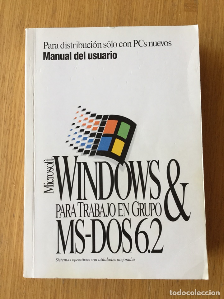 Libros de segunda mano: Manual usuario Windows para trabajo en grupo&MS-DOS 6.2 - Foto 1 - 116340188