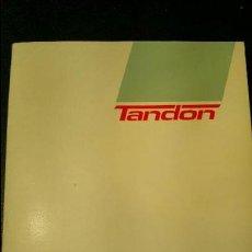 Libros de segunda mano: TANDON - MANUAL DE REFERENCIA DEL USUARIO PCA/PCX MS-DOS Y WINDOWS (1987). Lote 116381539