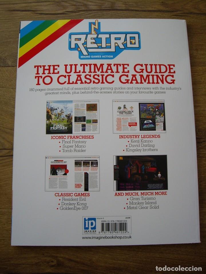 Retro Vol 8 Volume - Games Tm - Bookazine - Revista Videojuegos Retro