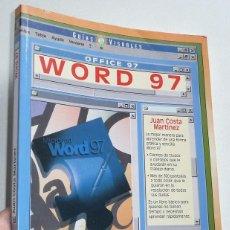 Libros de segunda mano: MICROSOFT WORD OFFICE 97 - JUAN COSTA MARTÍNEZ (GUÍAS VISUALES ANAYA, 1997). Lote 116992187