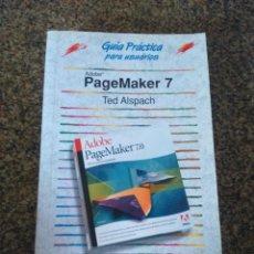 Libros de segunda mano: GUIA PRACTICA PARA USUARIOS -- ADOBE PAGEMAKER 7 -- ANAYA -- 2002 --. Lote 117205671