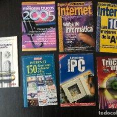 Libros de segunda mano: LOTE 7 GUÍAS INFORMÁTICA . Lote 117249051