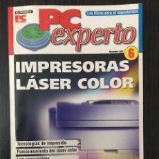 Libros de segunda mano: IMPRESORAS LÁSER COLOR - PC EXPERTO, NOVIEMBRE 2002. Lote 117249231