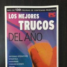 Libros de segunda mano: LOS MEJORES TRUCOS DEL AÑO - PC ACTUAL. Lote 117249291
