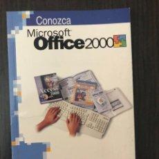 Libros de segunda mano: CONOZCA MICROSOFT OFFICE 2000, ED. ANAYA. Lote 117249435