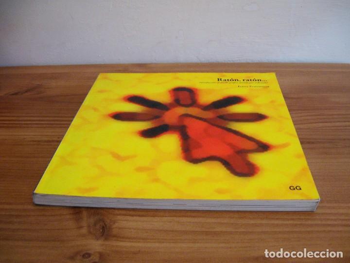 Libros de segunda mano: RATÓN, RATÓN. INTRODUCCIÓN AL DISEÑO GRÁFICO ASISTIDO POR ORDENADOR. FUENMAYOR, ELENA. 1 ª ED. 1996 - Foto 3 - 117406999