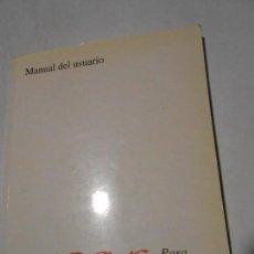 Libros de segunda mano: MANUAL DEL USUARIO KNOSYS PARA WINDOWS - 1996. Lote 117680927