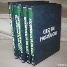 Libros de segunda mano: CURSO IBM DE PROGRAMACÍON. 5 TOMOS. Lote 117947767
