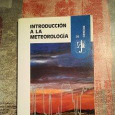 Libros de segunda mano: INTRODUCCIÓN A LA METEOROLOGÍA - J. CATALÀ DE ALEMANY. Lote 118175191