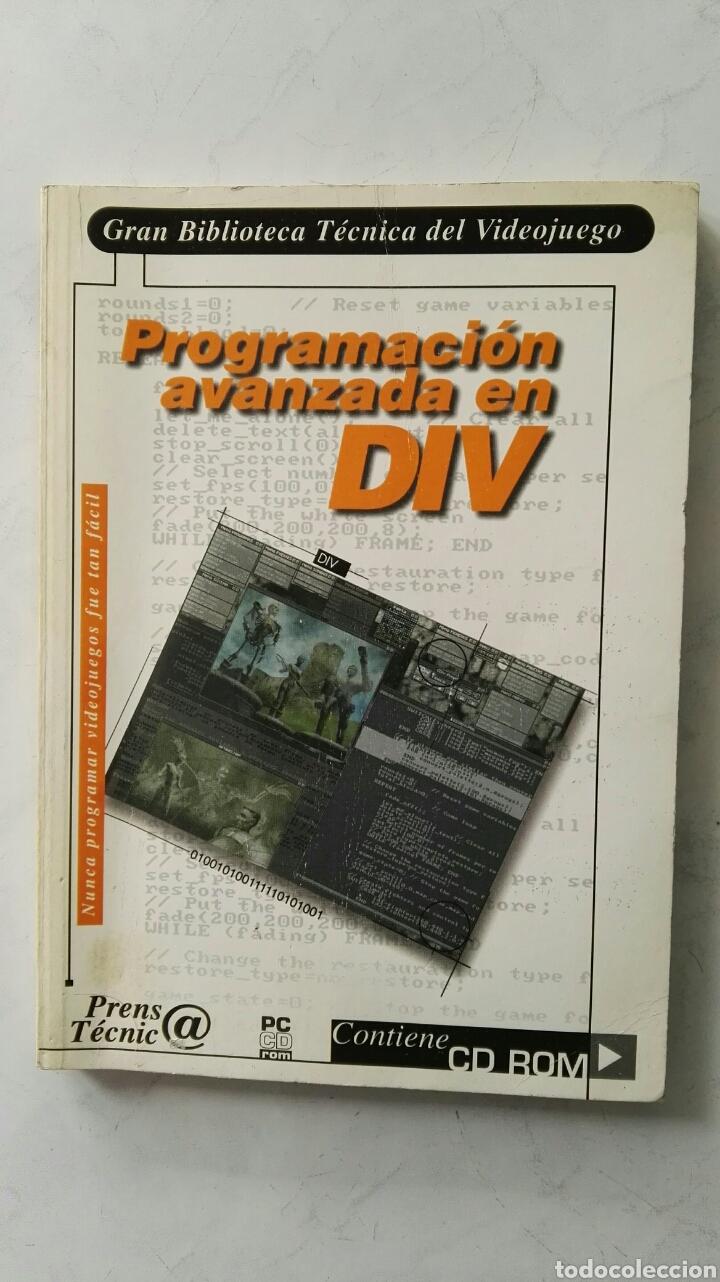 PROGRAMACIÓN AVANZADA EN DIV GRAN BIBLIOTECA TÉCNICA DEL VIDEOJUEGO SIN CD (Libros de Segunda Mano - Informática)