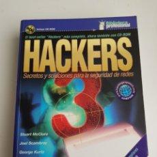 Libros de segunda mano: LIBRO HACKERS 3. Lote 119373242