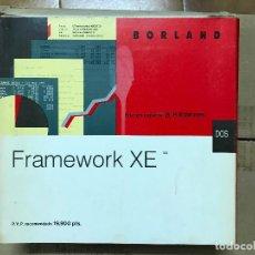 Libros de segunda mano: FRAMEWORK XE + CÓMO UTILIZAR FRAMEWORK XE PROGRAMA COMPLETO . Lote 119904807