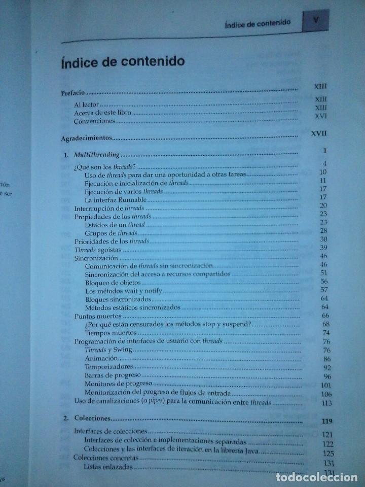 Libros de segunda mano: JAVA 2 VOL II. CARACTERISTICAS AVANZADAS CAY S. HORSTMANN & GARY CORNELL - Foto 3 - 120922627