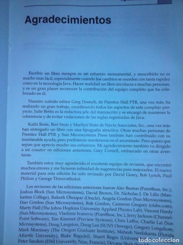Libros de segunda mano: JAVA 2 VOL II. CARACTERISTICAS AVANZADAS CAY S. HORSTMANN & GARY CORNELL - Foto 8 - 120922627