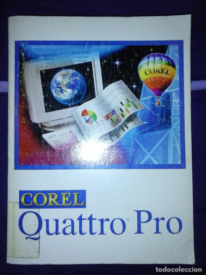 COREL QUATTRO PRO 6. PARA WINDOWS 95. (Libros de Segunda Mano - Informática)
