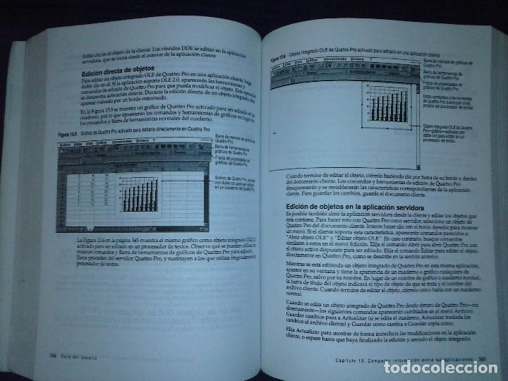 Libros de segunda mano: Corel Quattro Pro 6. Para Windows 95. - Foto 13 - 120923603