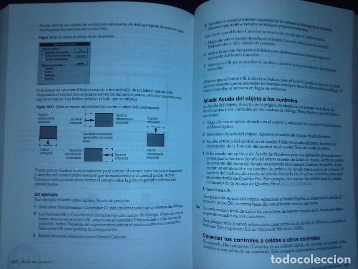 Libros de segunda mano: Corel Quattro Pro 6. Para Windows 95. - Foto 17 - 120923603