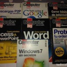 Libros de segunda mano: LOTE 6 LIBROS INFORMATICA COMPUTER HOY .. Lote 121793639
